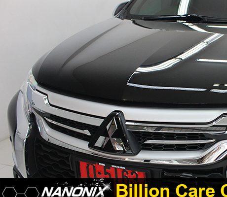 ผลงานเคลือบแก้ว mitsubishi pajero Billion Care Car Wash บิลเลี่ยนแคร์คาร์วอซ adogking