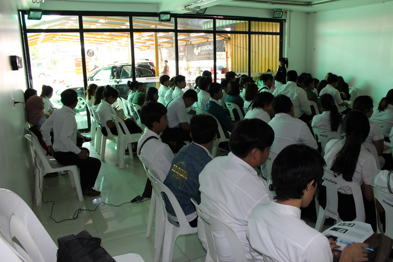 อบรมธุรกิจคาร์แคร์ให้กับนักเรียน กศน. มีนบุรี