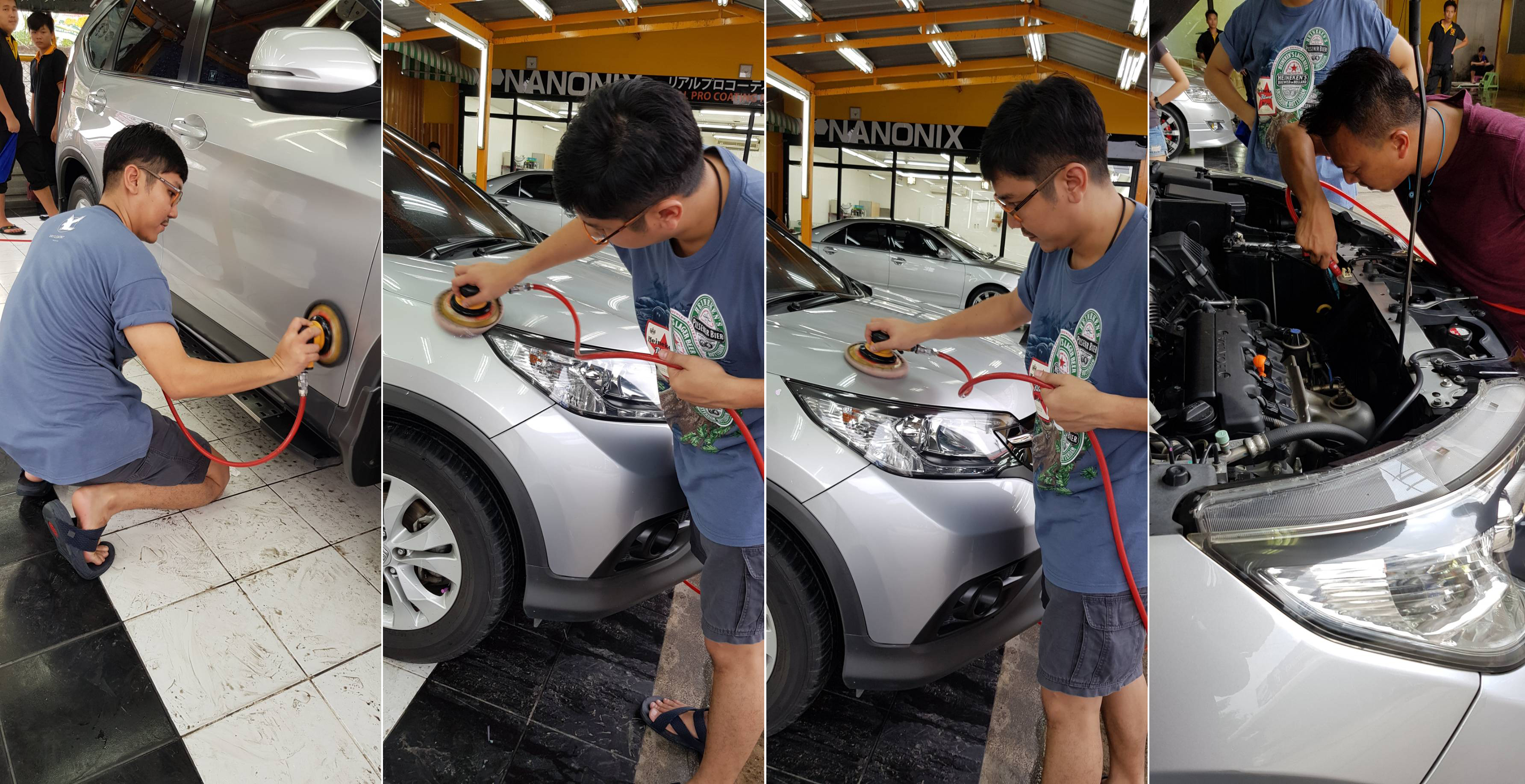 ผลงานวางระบบและอบรมธุรกิจคาร์แคร์ (จตุโชติ) Billion Care Car Wash