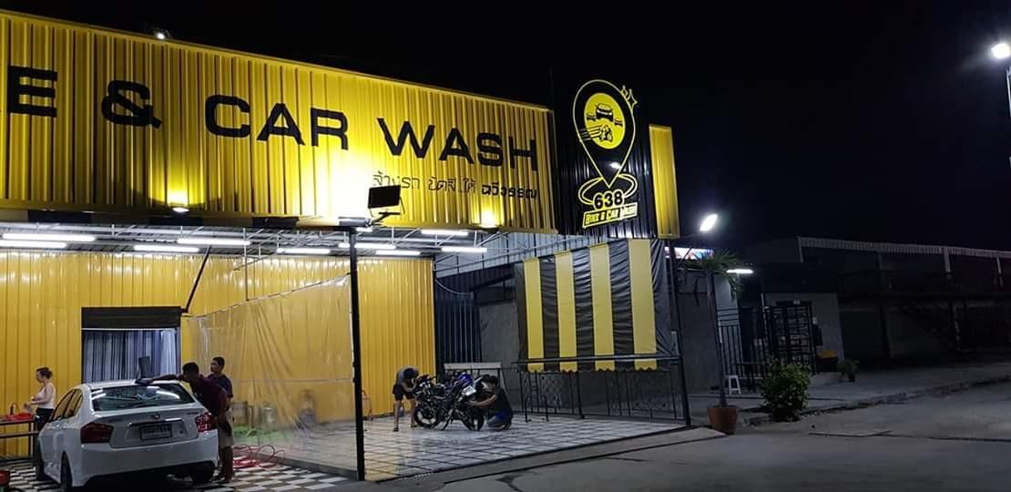 ผลงานวางระบบและอบรมธุรกิจคาร์แคร์ ร้าน 638 BIKE & CAR WASH (เกษตร-นวมินทร์)