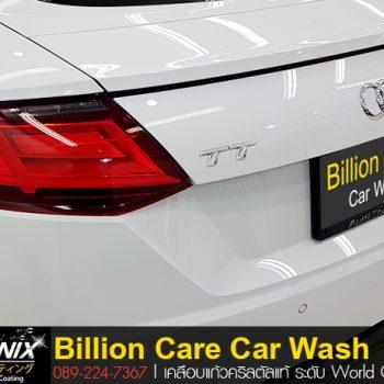 เคลือบ Ceramic Audi TT By Billion Care Nanonix adogking